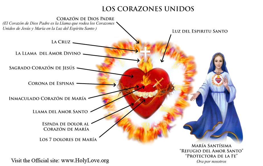 Los Corazones Unidos - Amor Santo Holy Love