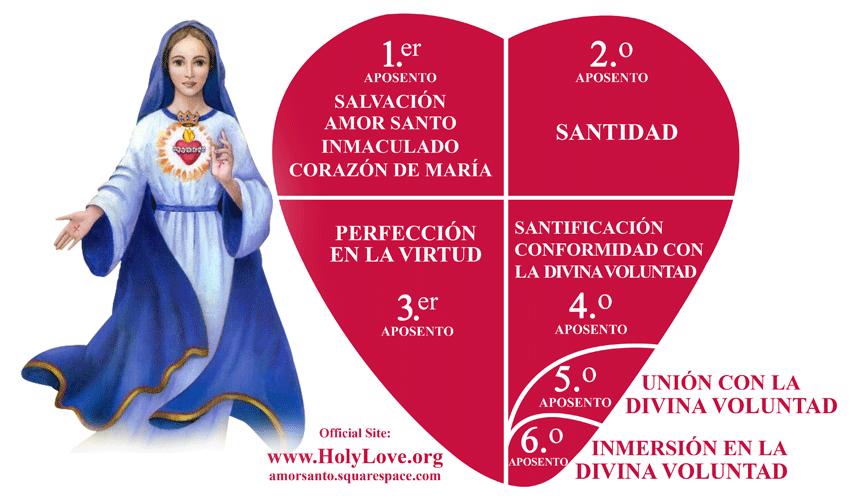 Aposentos de los Corazones Unidos - Amor Santo