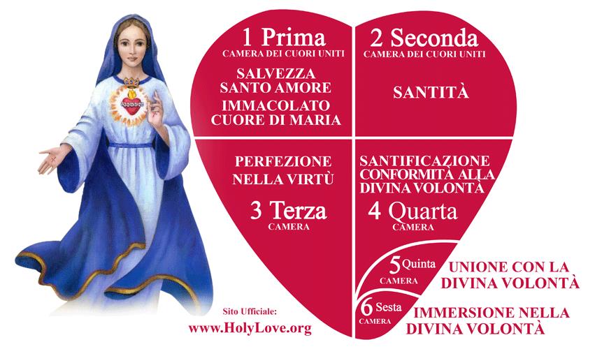 Le Camere dei Cuori Uniti - Santo Amore (Holy Love)