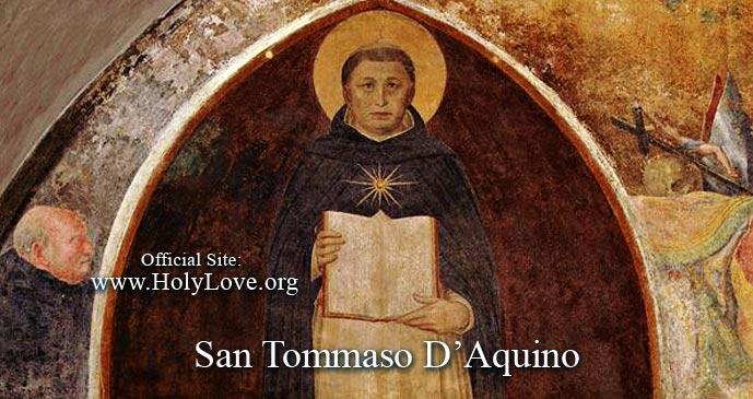 Saint Thomas Aquinas - Holy Love