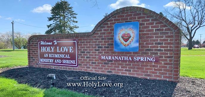 Maranatha Sorgente e Santuario - Santo Amore - Holy Love
